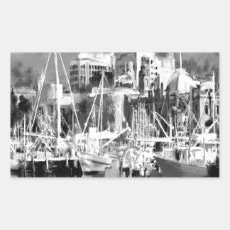Adesivo Retangular Eu amo Hobart