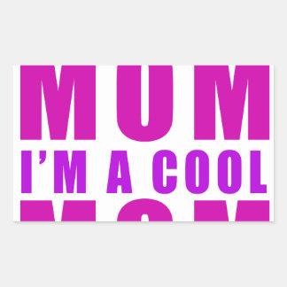 Adesivo Retangular Eu não sou uma mamã que do regulus eu sou mãe