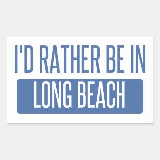 Adesivo Retangular Eu preferencialmente estaria em Long Beach CA