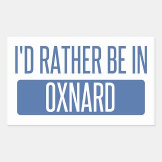 Adesivo Retangular Eu preferencialmente estaria em Oxnard