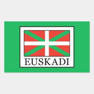Adesivo Retangular Euskadi
