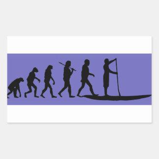 Adesivo Retangular Evolução do SUP