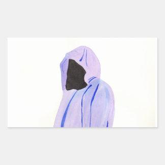 Adesivo Retangular Figura Cloaked