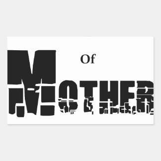 Adesivo Retangular Filha da mãe Natureza