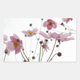 Adesivo Retangular flor