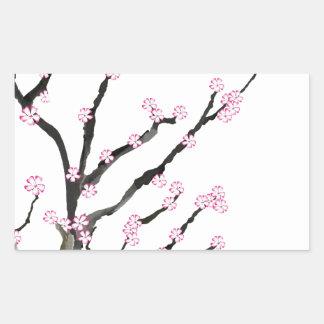 Adesivo Retangular Flor de cerejeira 23 de Sakura, Tony Fernandes