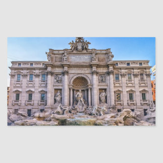Adesivo Retangular Fonte do Trevi, Roma, Italia
