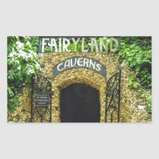 Adesivo Retangular Fotografia da natureza das cavernas do Fairyland