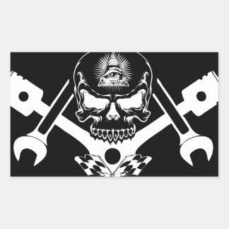 Adesivo Retangular Freemason-Widows-Sons-Masonic-Hotrod-Logo-20160407