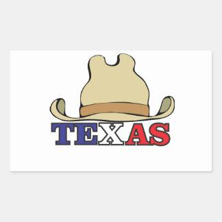 Adesivo Retangular gajo texas