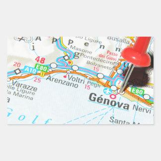 Adesivo Retangular Genebra, Italia