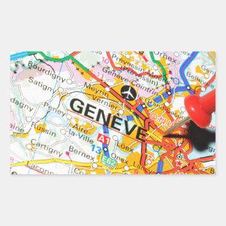 Adesivo Retangular Geneve, Genebra, suiça