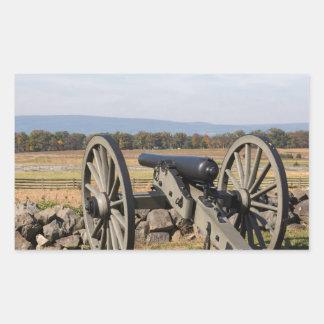 Adesivo Retangular Gettysburg: Uma ideia da carga de Pickett