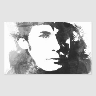 Adesivo Retangular Glenn Gould