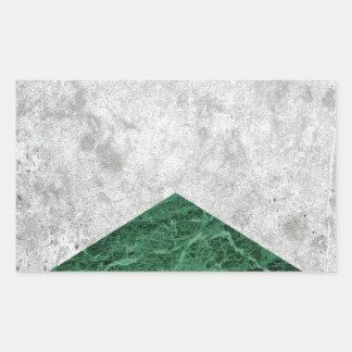 Adesivo Retangular Granito concreto #412 do verde da seta