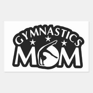 Adesivo Retangular Gymnastics_Mom