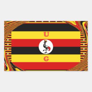Adesivo Retangular Hakuna surpreendente bonito Matata Uganda bonito