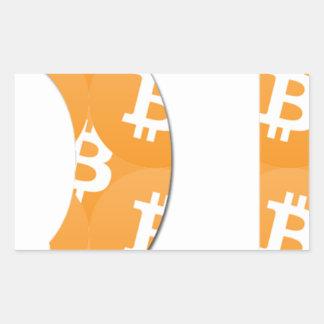 Adesivo Retangular Hodl Bitcoin