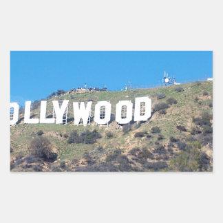 Adesivo Retangular Hollywood Hills