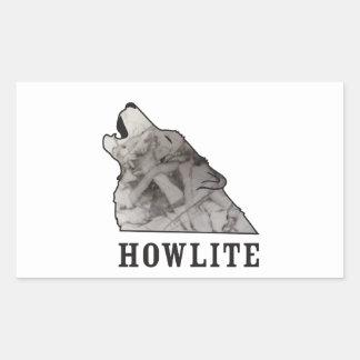 Adesivo Retangular howlite.ai
