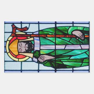Adesivo Retangular Janela de Patrick de santo