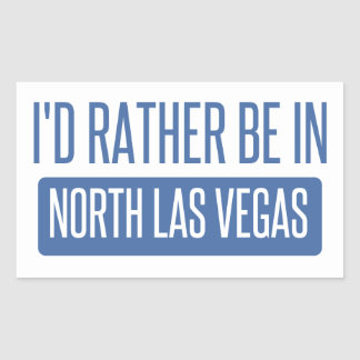 Adesivo Retangular Las Vegas norte