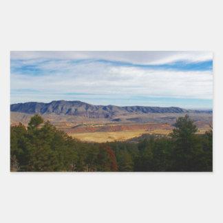 Adesivo Retangular Lince Ridge Colorado