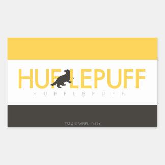 Adesivo Retangular Logotipo do orgulho da casa de Harry Potter |