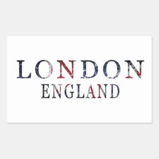 Adesivo Retangular Londres, Inglaterra