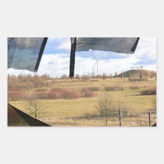 Adesivo Retangular Lugar perdido 01,0, expo 2000, Hannover