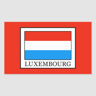 Adesivo Retangular Luxembourg