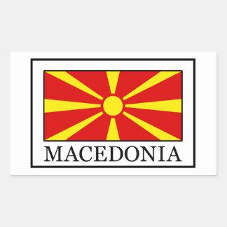 Adesivo Retangular Macedónia