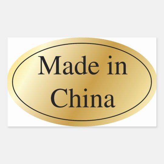 ADESIVO RETANGULAR MADE IN CHINA