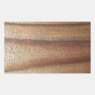Adesivo Retangular Madeira do cedro