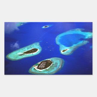 Adesivo Retangular Maldives