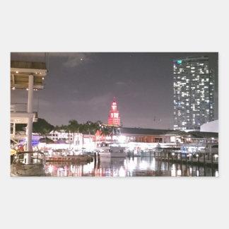 Adesivo Retangular Mercado Miami de Bayside