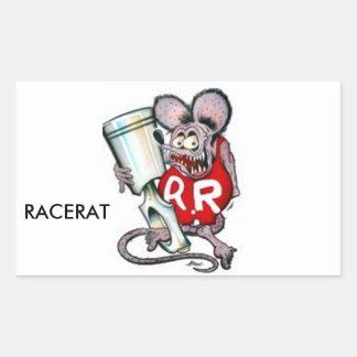 Adesivo Retangular Mercadoria de RACERAT