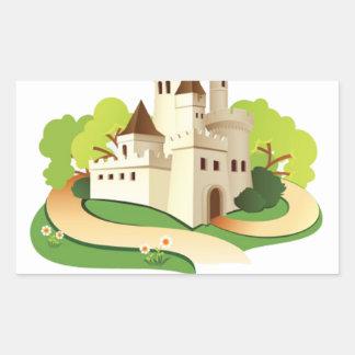 Adesivo Retangular minha casa meu castelo