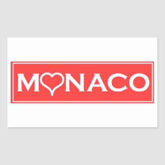 Adesivo Retangular Mónaco