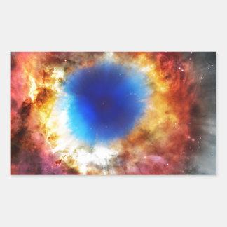 Adesivo Retangular Nebulosa da hélice