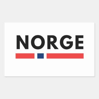 Adesivo Retangular Norge