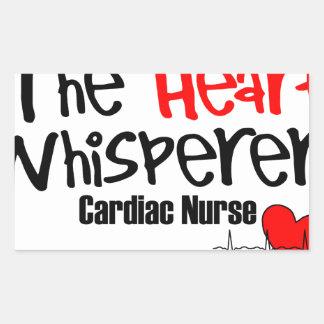 Adesivo Retangular Nutra o whisperer do coração