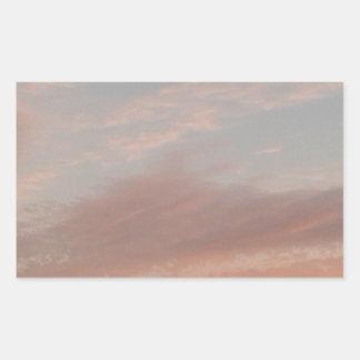 Adesivo Retangular Nuvens estranhas 2