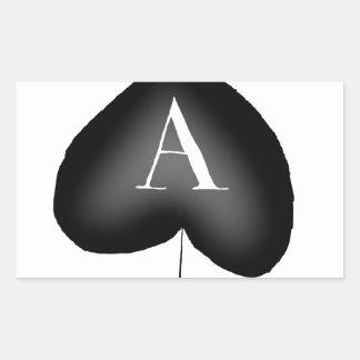 Adesivo Retangular O ás de espada por Tony Fernandes