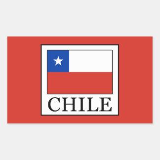 Adesivo Retangular O Chile