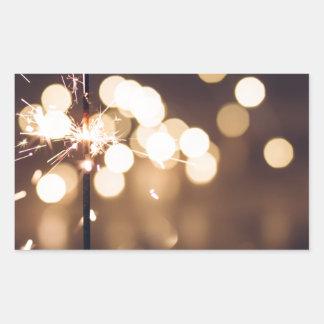 Adesivo Retangular O melhor presente de aniversário