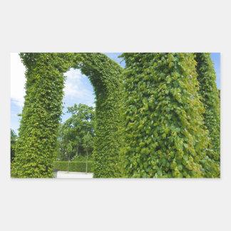 Adesivo Retangular O verde deixa arcos
