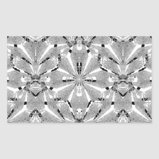 Adesivo Retangular Ornamentado oriental moderno