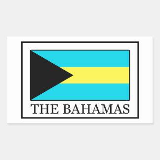 Adesivo Retangular Os Bahamas