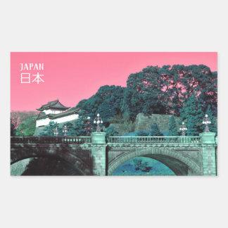 Adesivo Retangular Palácio imperial em Tokyo, Japão